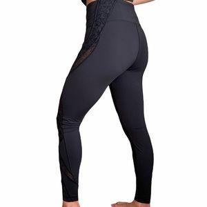 Lululemon Athletica Black High Rise Leggings Size8